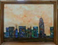 """Capitol Skyline"" by Tammy Jett Reserve: $50"