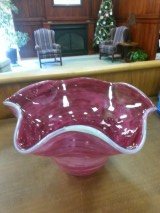 Hand sculpted bowl from MONA donated by Norm and Deb McCaslin   Reserve:  $100