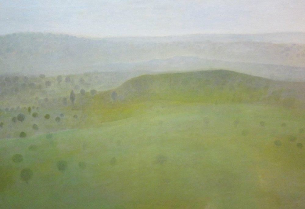 """""""At Dusk"""" Oil on Canvas 24""""x24"""""""