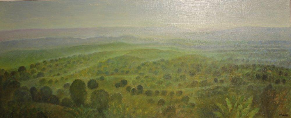 """Berkshires"" Oil on Canvas 30""x60"""