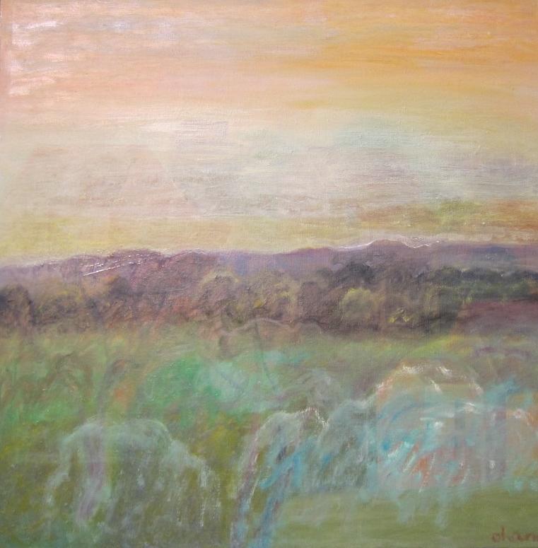 """""""Haze"""" Oil on Canvas 30""""x48"""""""