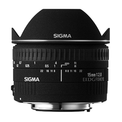 Sigma 15 mm f/2.8 fisheye Buy now on Amazon | B&H