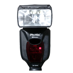 Phottix Mitros + TTL Flash Buy now on Amazon | B&H