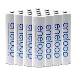 Eneloop AA Batteries    Buy now  on  Amazon