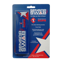 Eclipse Sensor Swabs    Buy now  on  Amazon  |  B&H