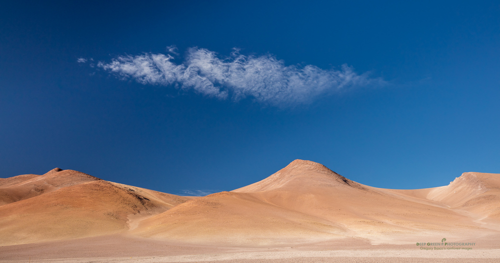 Mountains in the Atacama Desert in Chile