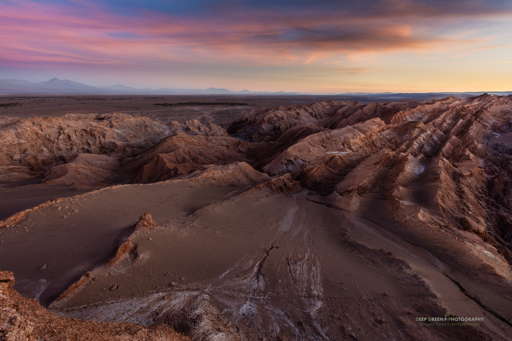 The moonlike landscape of Chile's Atacama desert