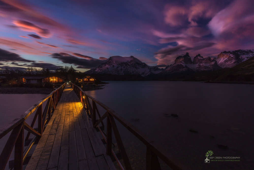 Lodging, Torres del Paine National Park, Chile
