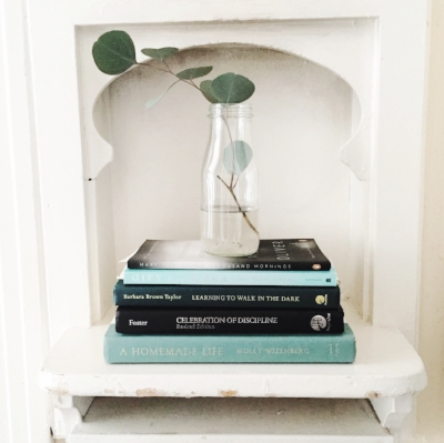This picture makes me realize how seriously our house is slanting. > should I crop so shelf is level? So books are level? So toast shelf frame is straight? The struggle...