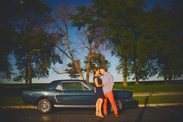 cute couples, cool cars and good light 👌🏻