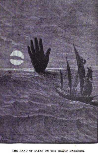 The Hand of Satan in the Sea of Darkness, Legends and Superstitions of the Sea and of Sailors in All Lands and at All Times (1885) by Fletcher S. Bassett.