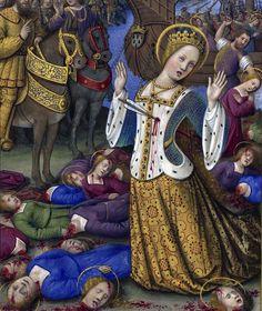 The Martyrdom of St Ursula