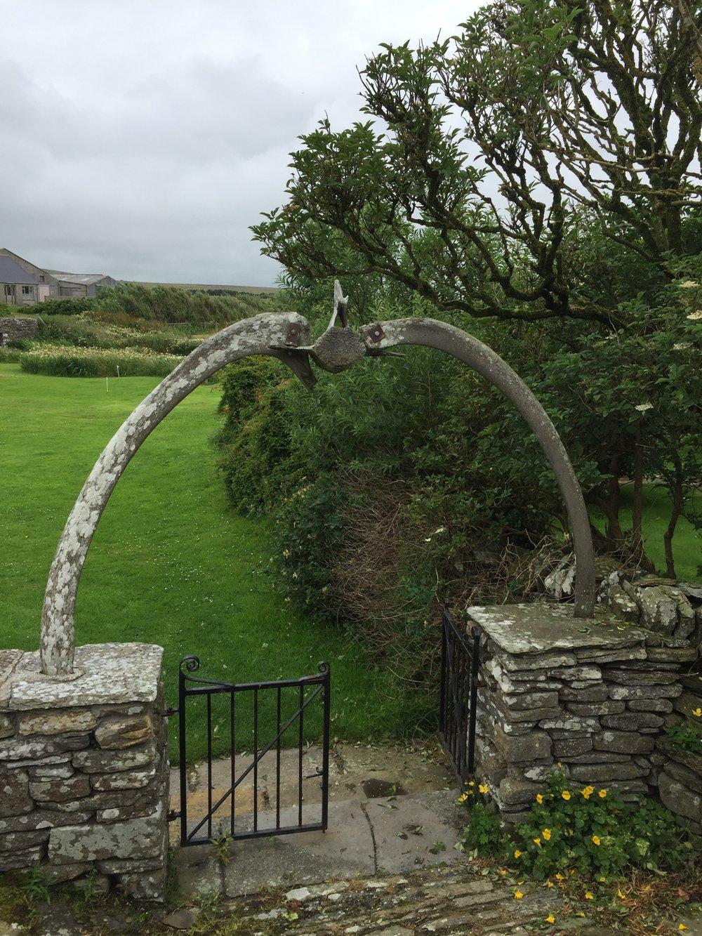 Whalebone gate