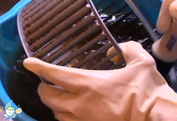 レンタル&クリーニングのレンジフードお掃除・クリーニング手順3