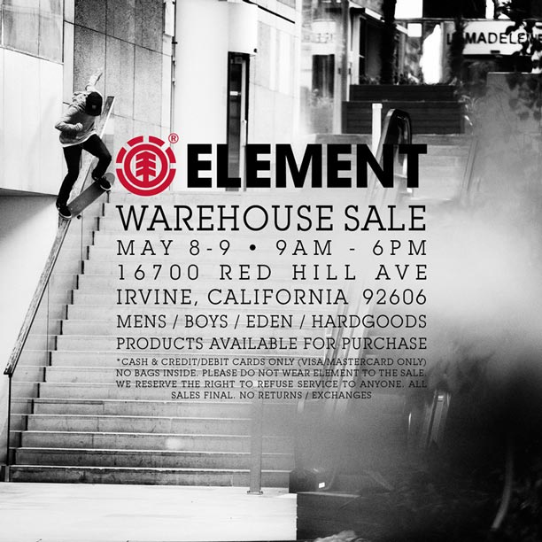 Element-Warehouse-Sale