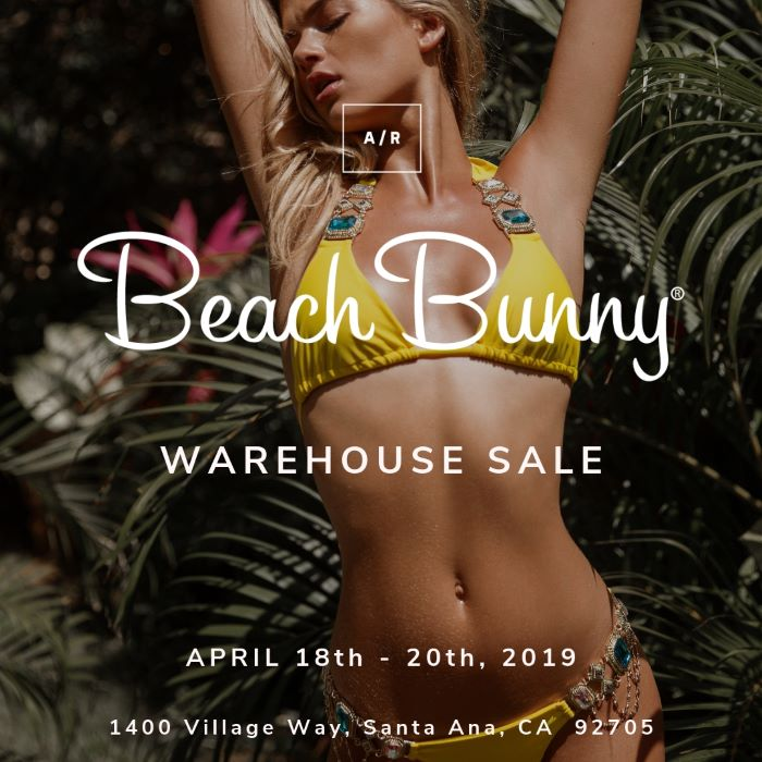aefaef503d7 BEACH BUNNY Warehouse Sale - Santa Ana, CA - April 2019 — Alternative Retail