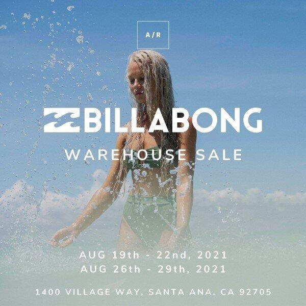 741eb8a8fb1d BILLABONG Warehouse Sale - Santa Ana, CA — Alternative Retail