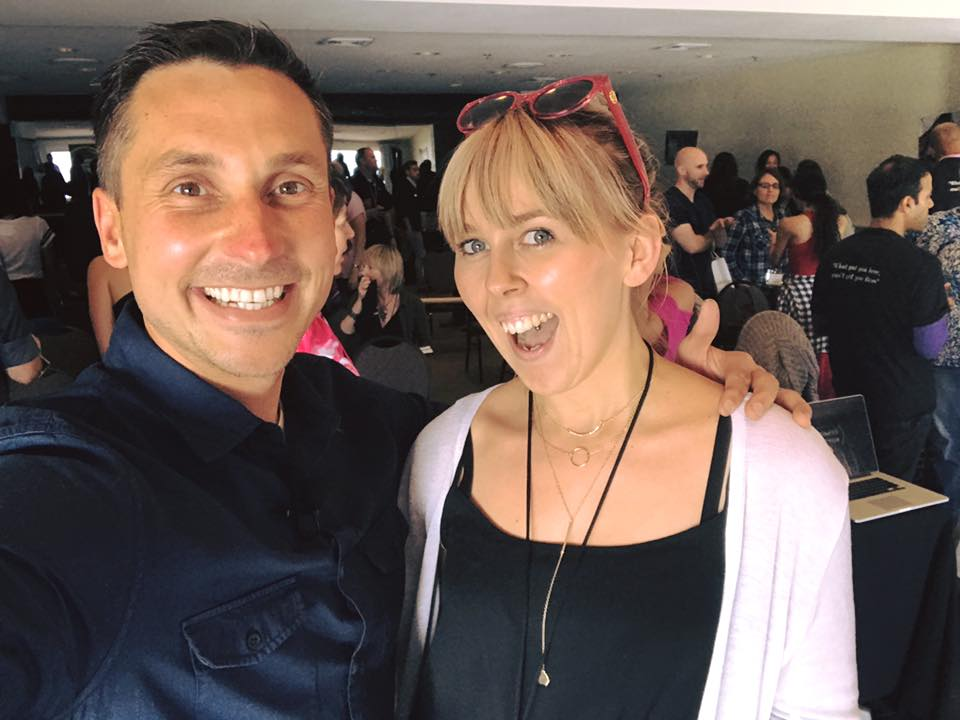 Online mentor James Wedmore and I in Laguna Beach!