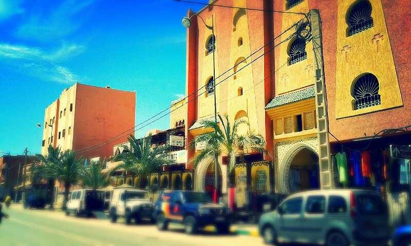 Erfoud - Cidade Município e Oásis do Sudeste de Marrocos, à beira do Rio Ziz