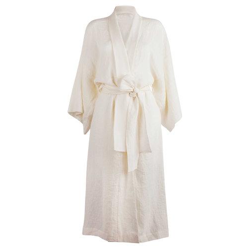 351451dd32 Textured linen kimono