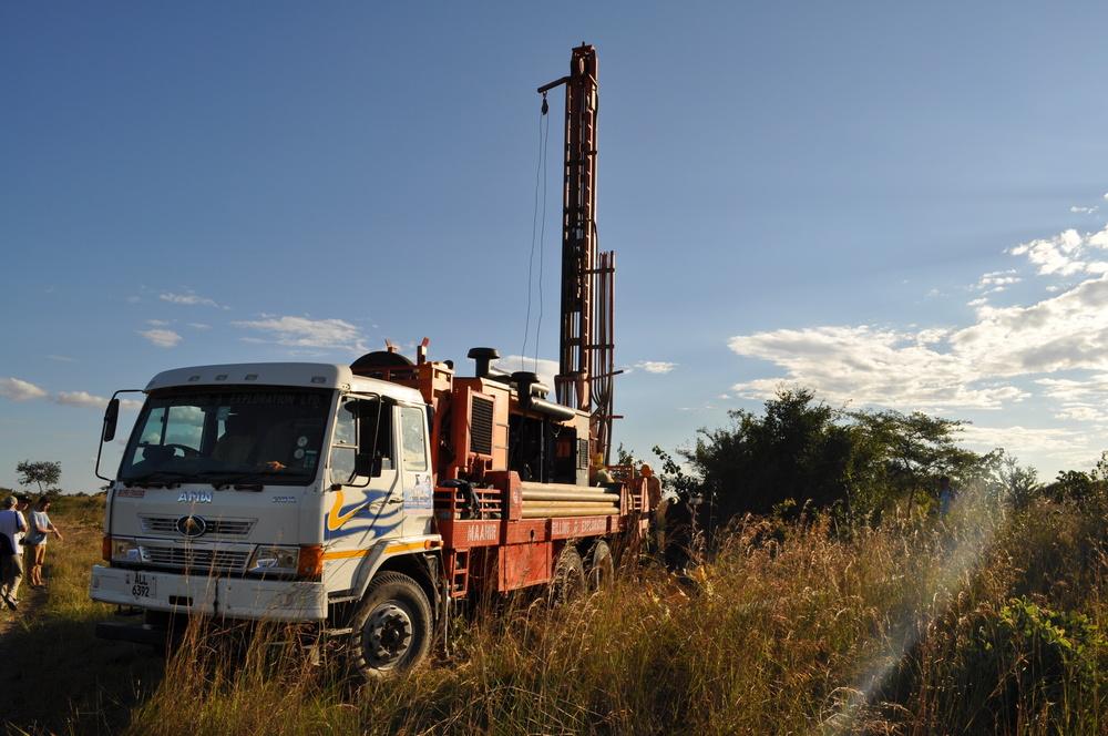 Drilling Borehole well in Muyanga Village, Zambia