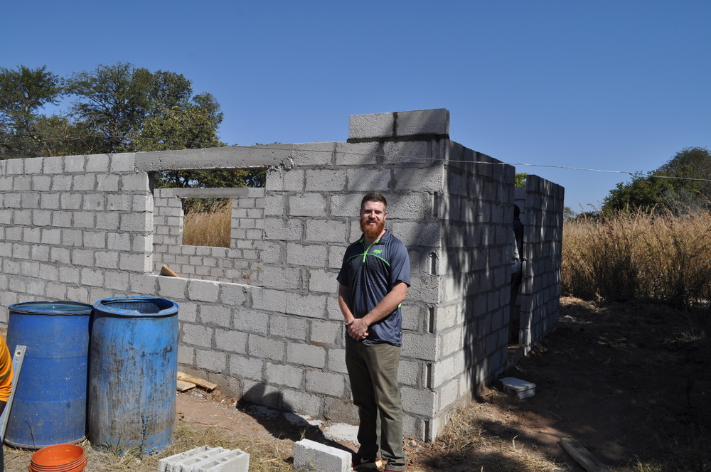 Progress on our last day in Zambia