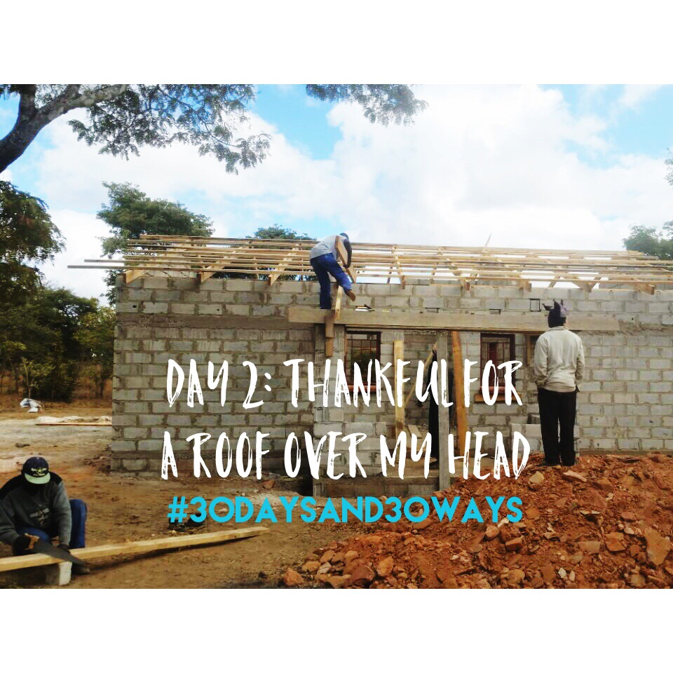 Day TWO : we're inspired by the roofs over our heads to GIVE a roof to abandoned and orphaned children at Life Okendewa! Give $45 to provide roofing sheet (and all the other roofing supplies) for these awesome kids!      🙌🏼  🙌🏾