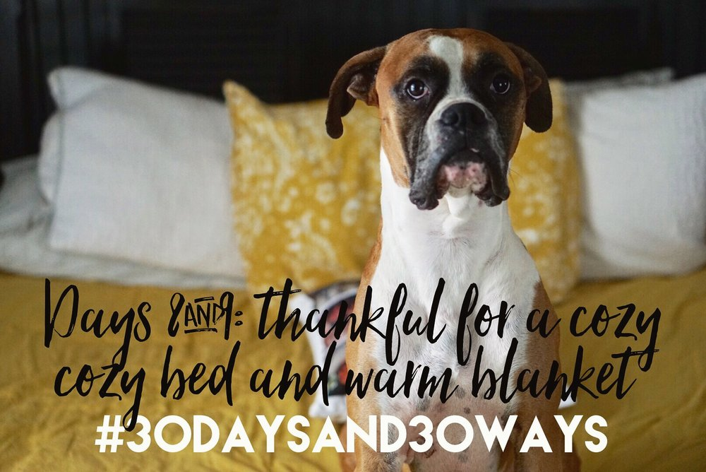 Days 8&9: we're thankful for cozy beds to sleep in and blankets to keep us warm on these cool November nights. At Life Okendewa   we want our kids to be cozy too! If you feel like staying in bed and under the blanket all day - then consider giving a bed ($80) or a blanket ($20) for the kids (and house mama) at Life Okendewa!!