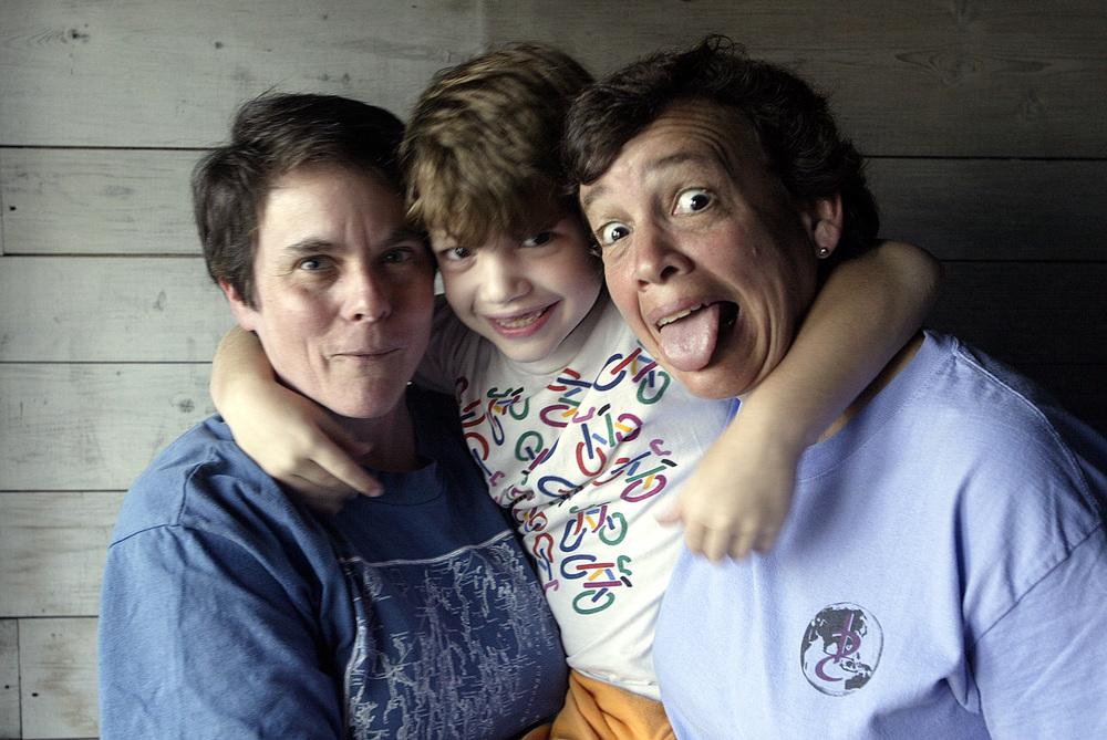 Kim, Gus, Susan, 2005