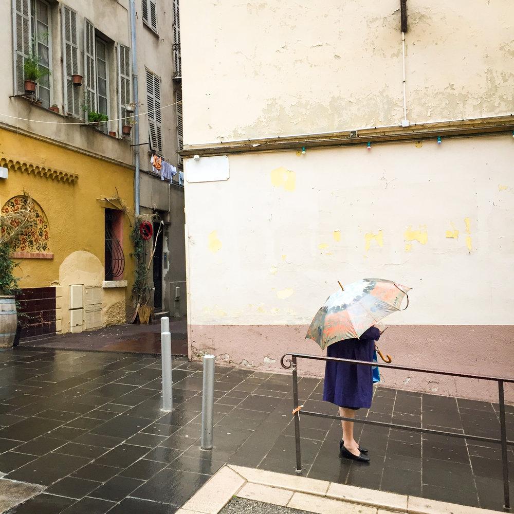 Last photo in Nice. Off to Belguim