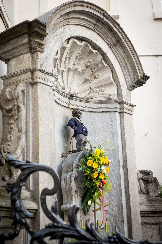 The Mennekin Pis in Brussels