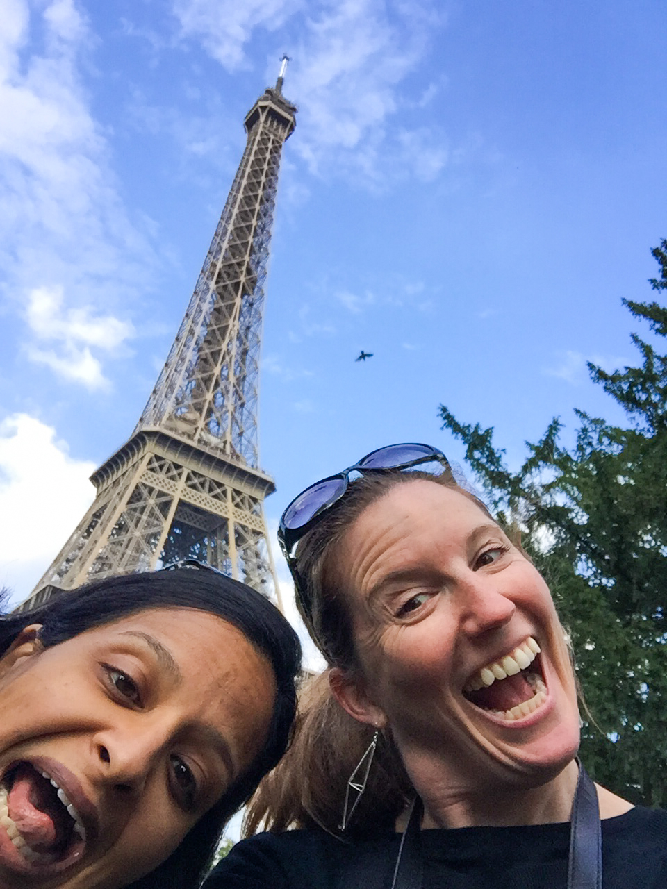 Goofy Americans in Paris. Oct '16