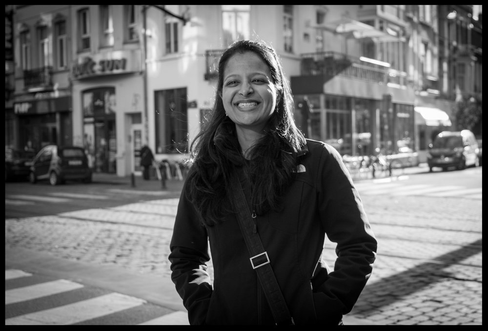 I photographed and interviewed Nirvi in October 2016 in Brussels Belgium where she is currently living with her husband and working at Politico. Visiting her there was part of our annual girls trip which started in Paris.