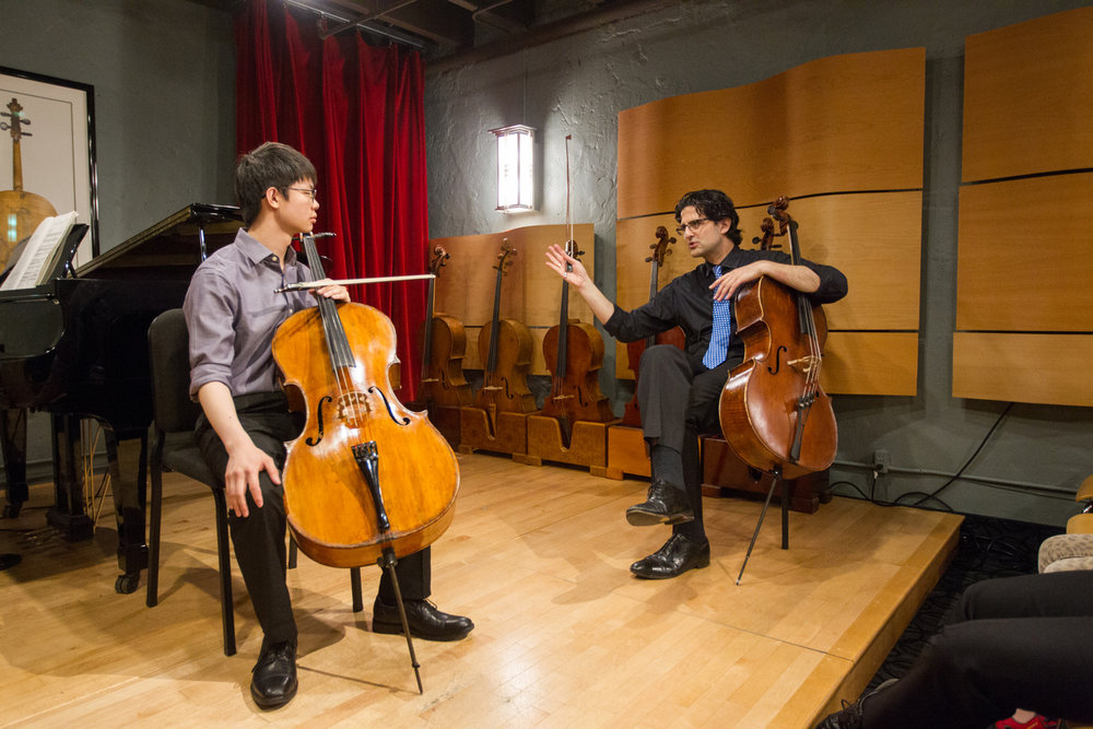 Amit Peled cello masterclass