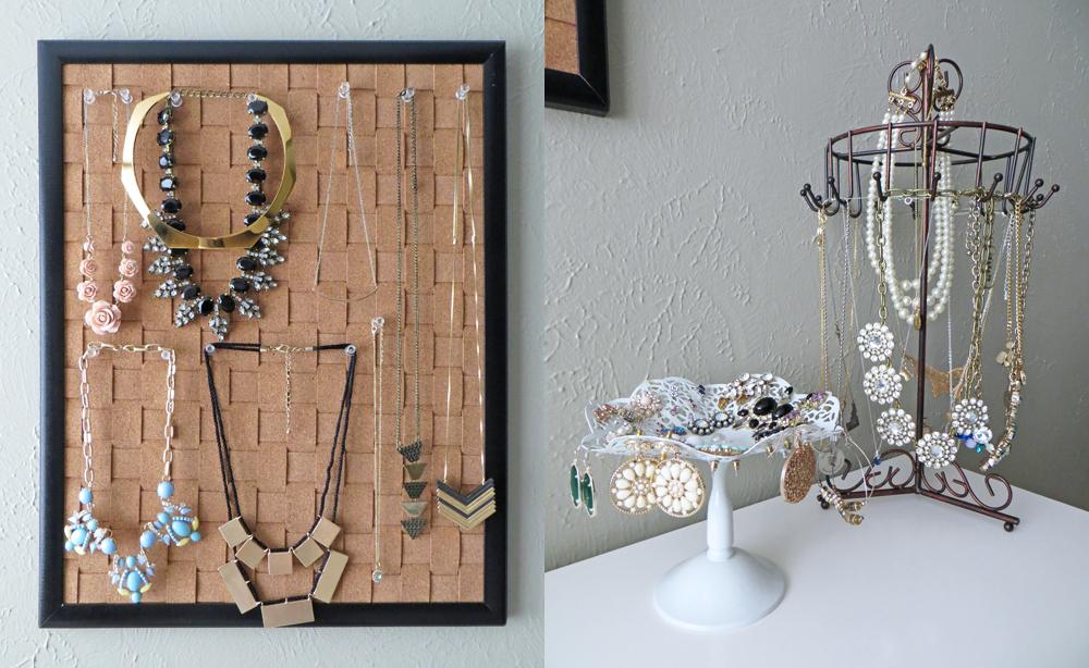 Closet inventory w/ jewelry storage ideas -- Cotton Cashmere Cat Hair