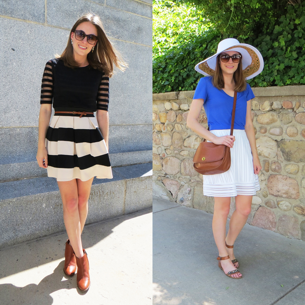 Stripes, cognac, and easy separates for spring/summer -- Cotton Cashmere Cat Hair