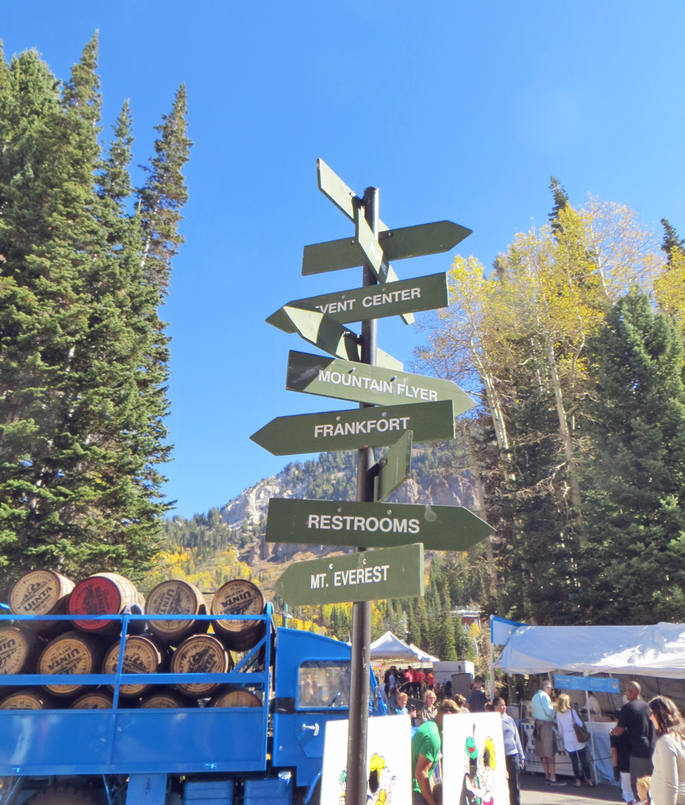 Oktoberfest at Snowbird Ski Resort, Utah -- Cotton Cashmere Cat Hair