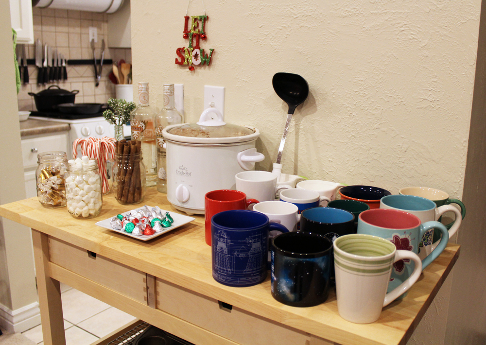 Friendsmas: Hot chocolate bar — Cotton Cashmere Cat Hair