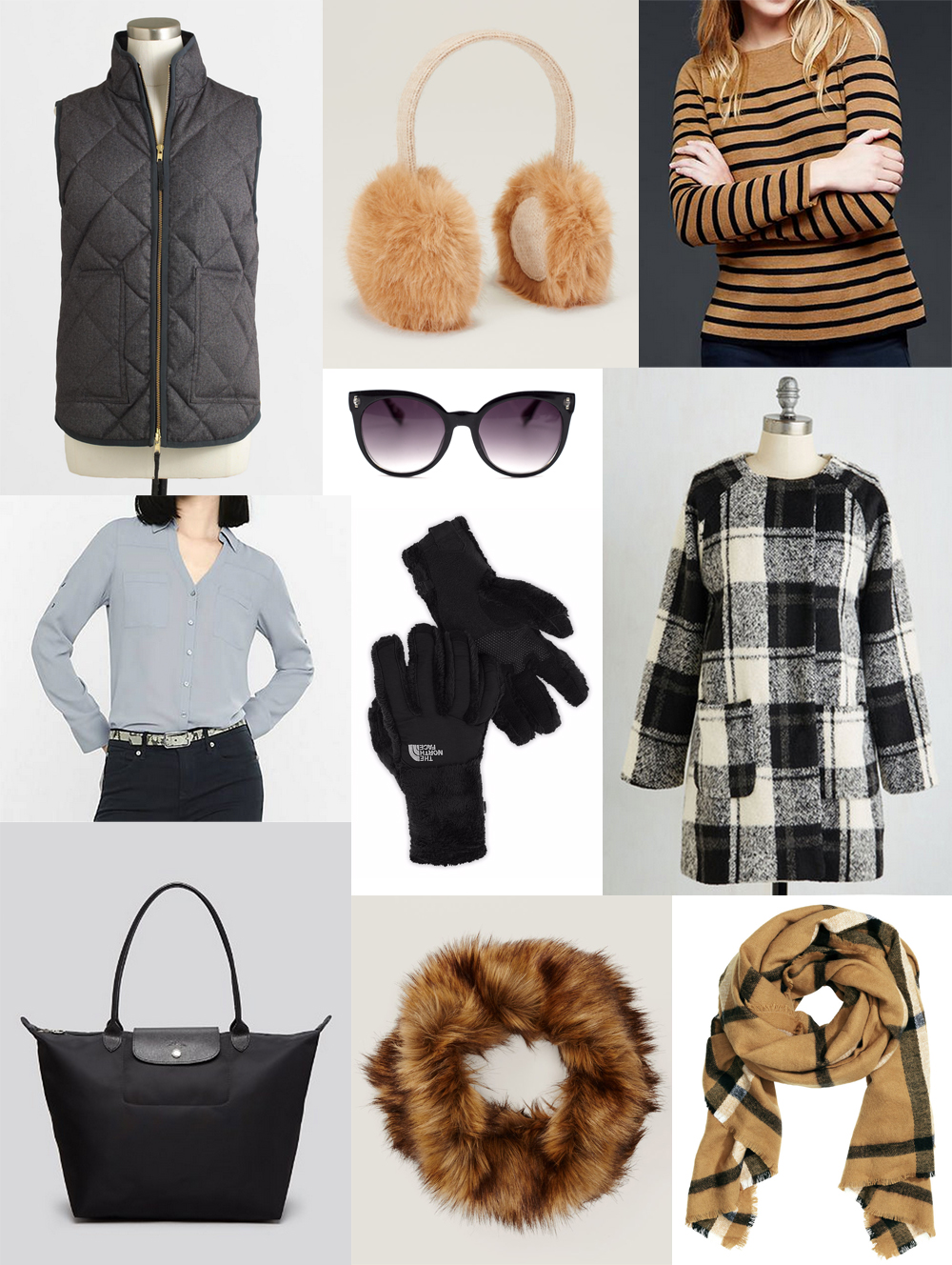December wardrobe additions — Cotton Cashmere Cat Hair