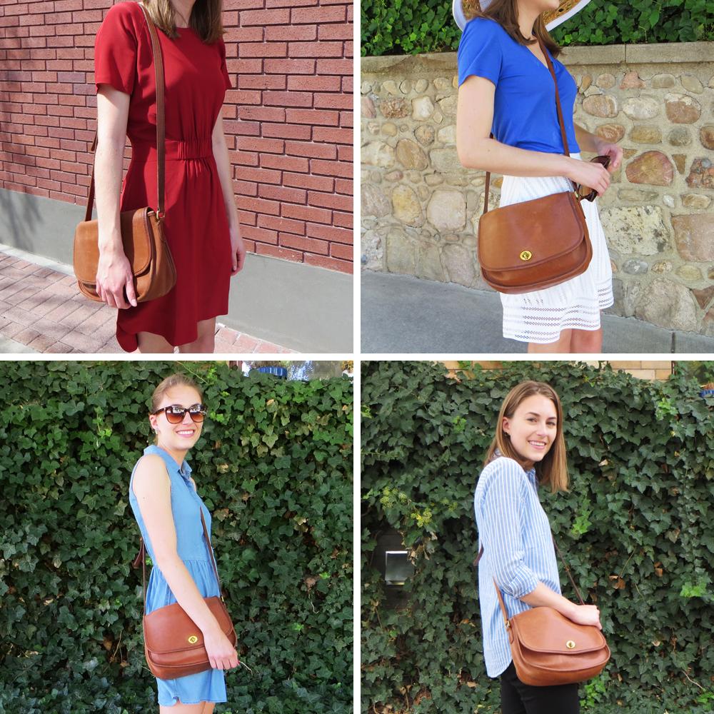 Best purchase of 2015: Coach 'City' vintage bag — Cotton Cashmere Cat Hair