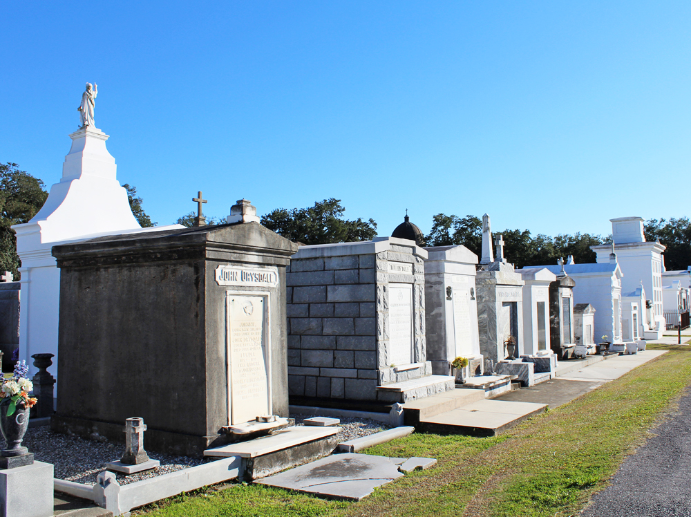 St. Louis Cemetery, New Orleans — Cotton Cashmere Cat Hair