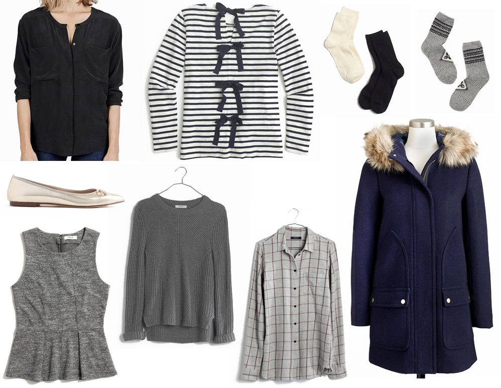 January wardrobe additions — Cotton Cashmere Cat Hair
