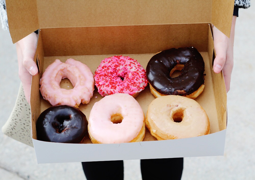 Valentine's Day donuts — Cotton Cashmere Cat Hair
