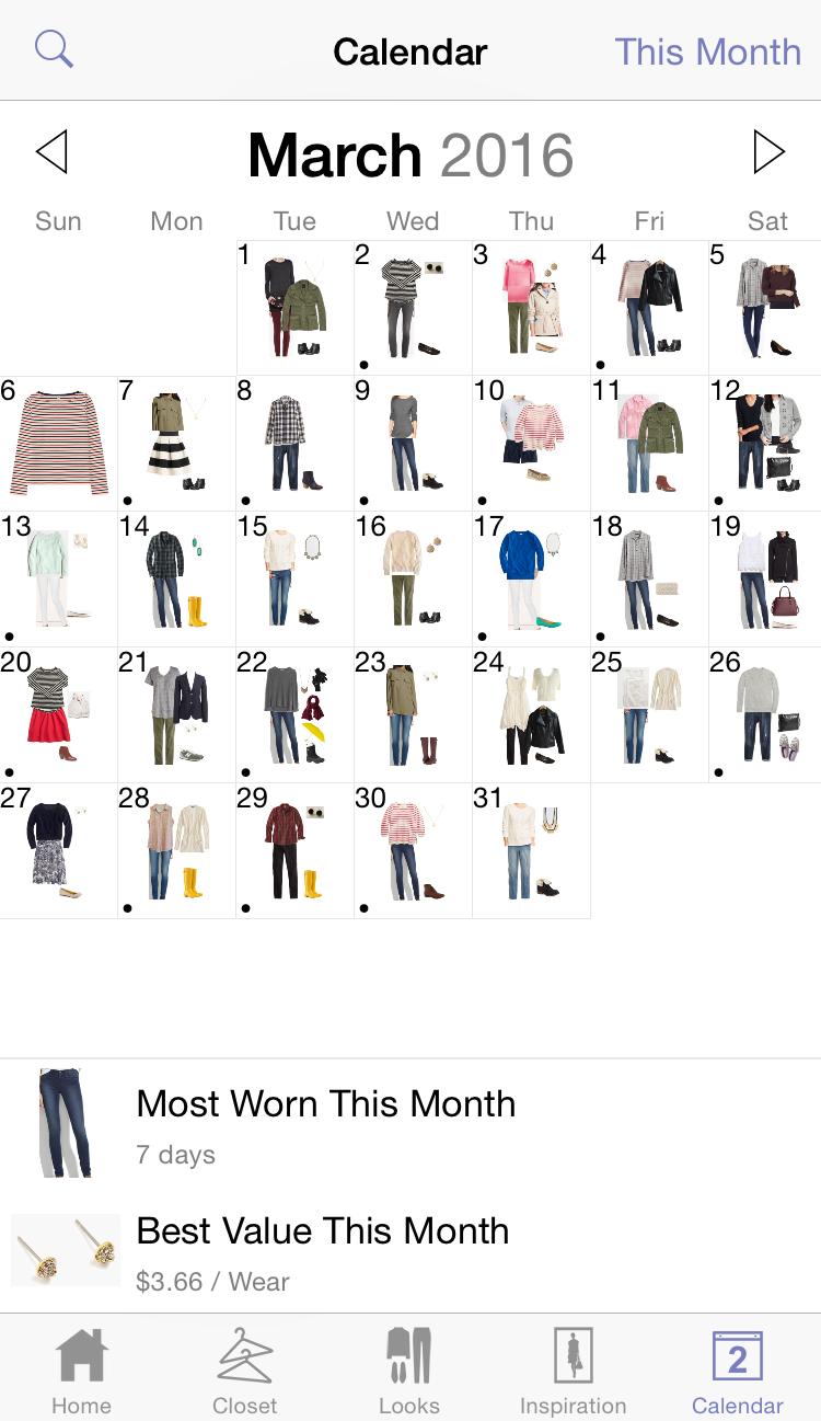 Favorite iPhone app: Stylebook — via Cotton Cashmere Cat Hair