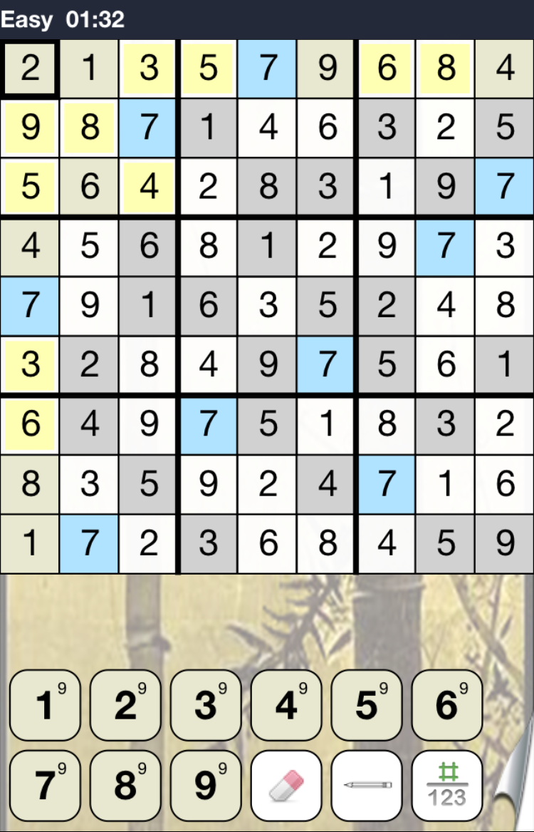 Favorite iPhone app: Sudoku — via Cotton Cashmere Cat Hair