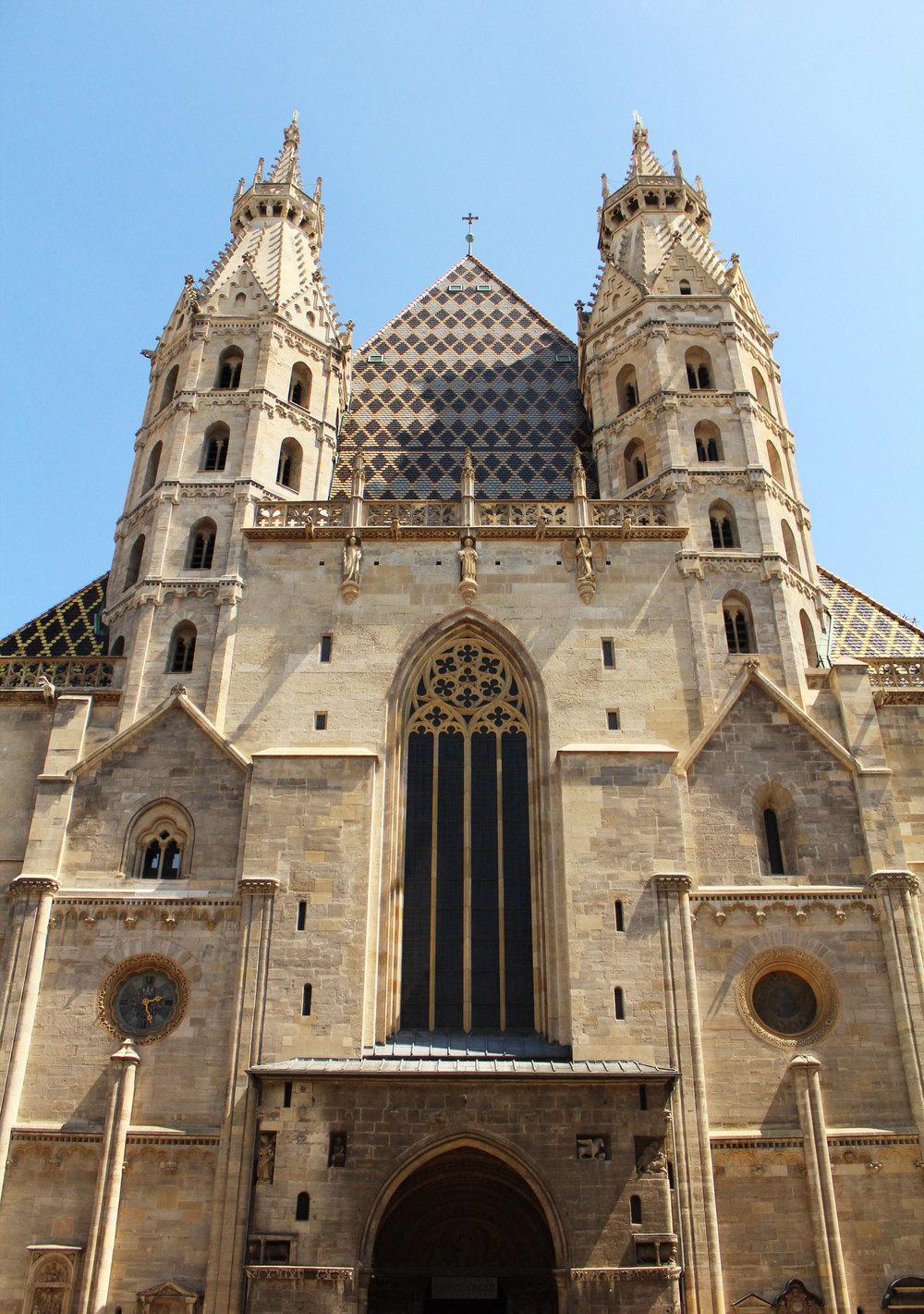 St. Stephan's Cathedral, Vienna, Austria — via Cotton Cashmere Cat Hair