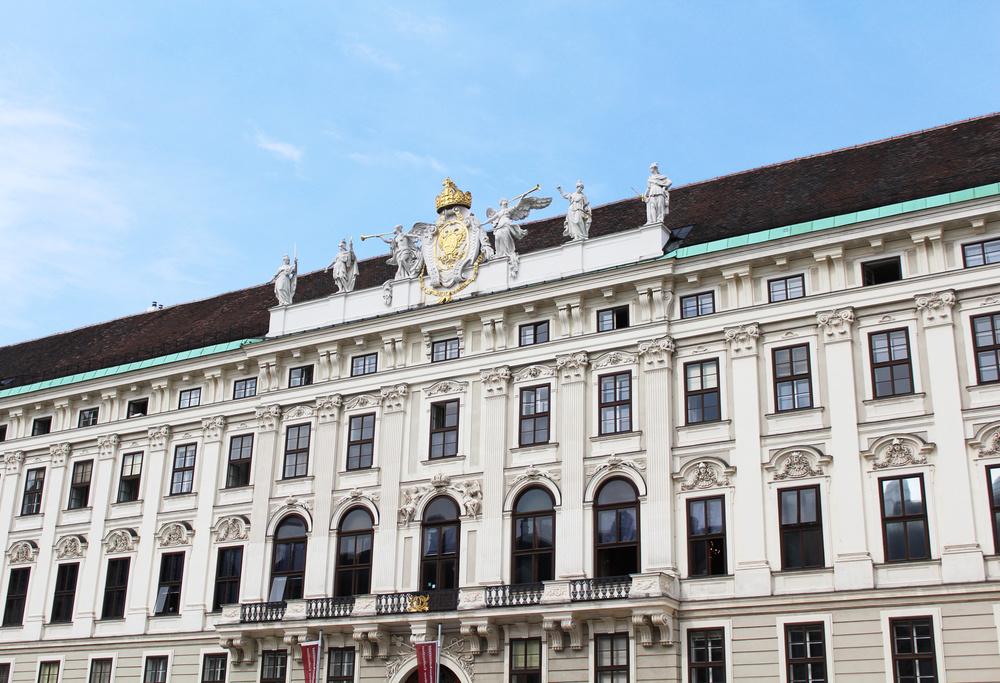 Imperial apartments of Hofburg Palace, Vienna, Austria — via Cotton Cashmere Cat Hair