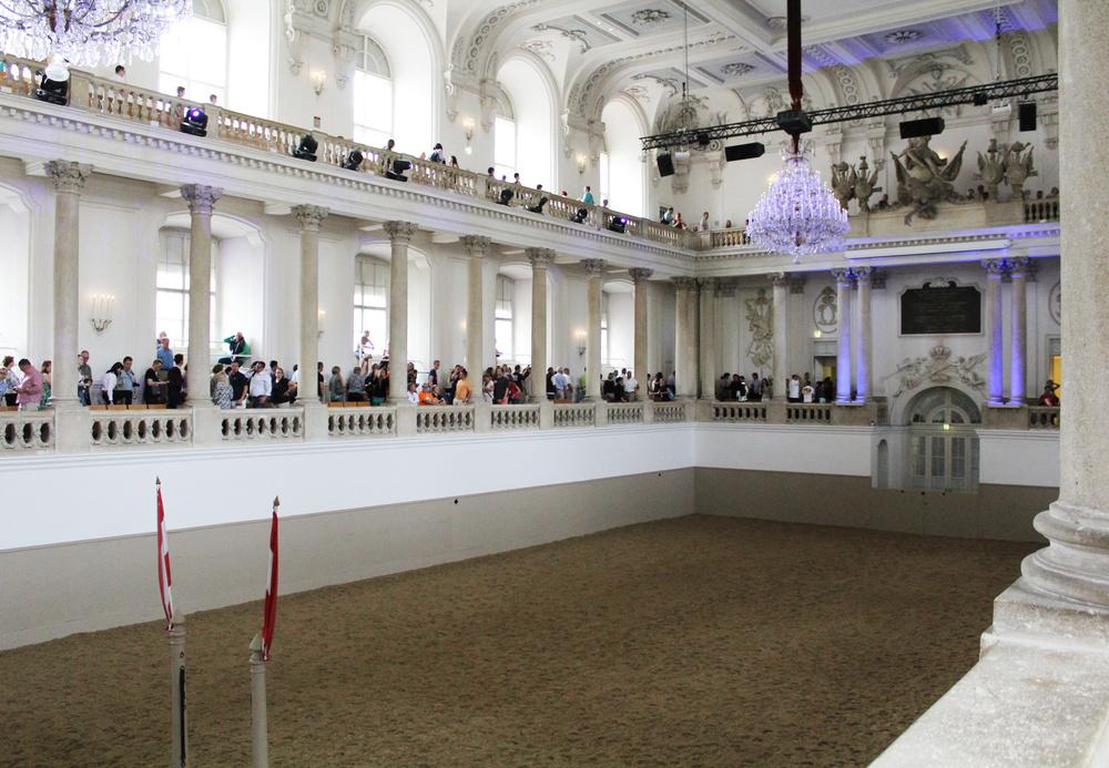 Spanish Riding School, Vienna, Austria — via Cotton Cashmere Cat Hair
