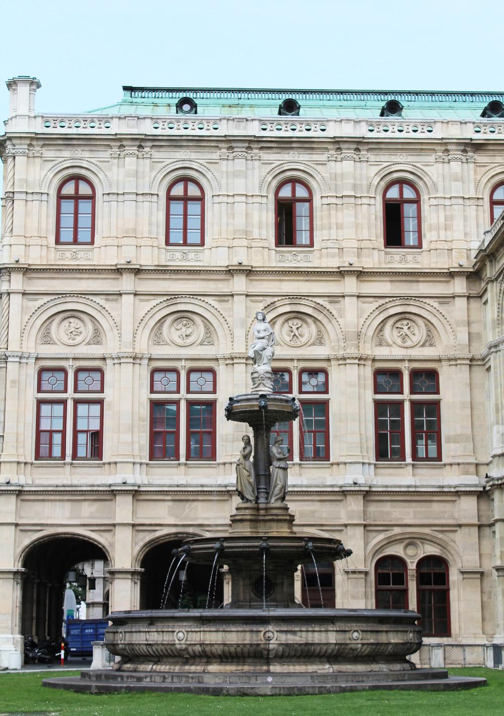 Vienna State Opera, Austria — via Cotton Cashmere Cat Hair