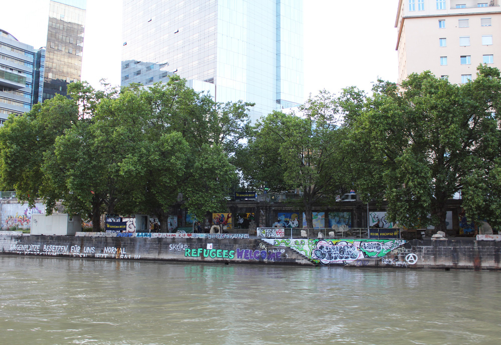 Danube Canal, Vienna, Austria — via Cotton Cashmere Cat Hair